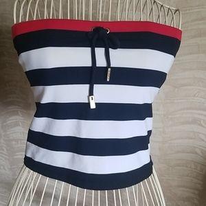 Ralph Lauren swim tube top With stripes